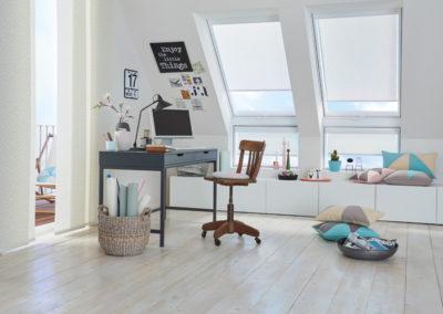 Dachflächen-Plissees